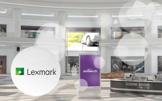 Sub image Lexmark in retail