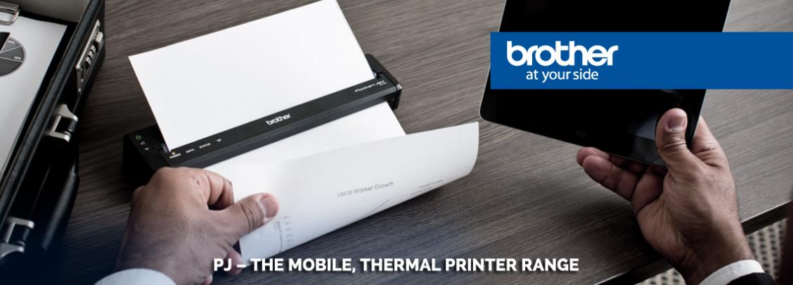 Brother PJ mobile printer new to use