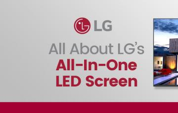 LGs All in One LED