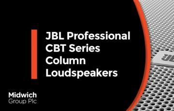 JBL Professional CBT Series Column Loudspeakers