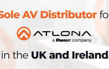 Midwich named sole AV distributor for Atlona in the UK and Ireland