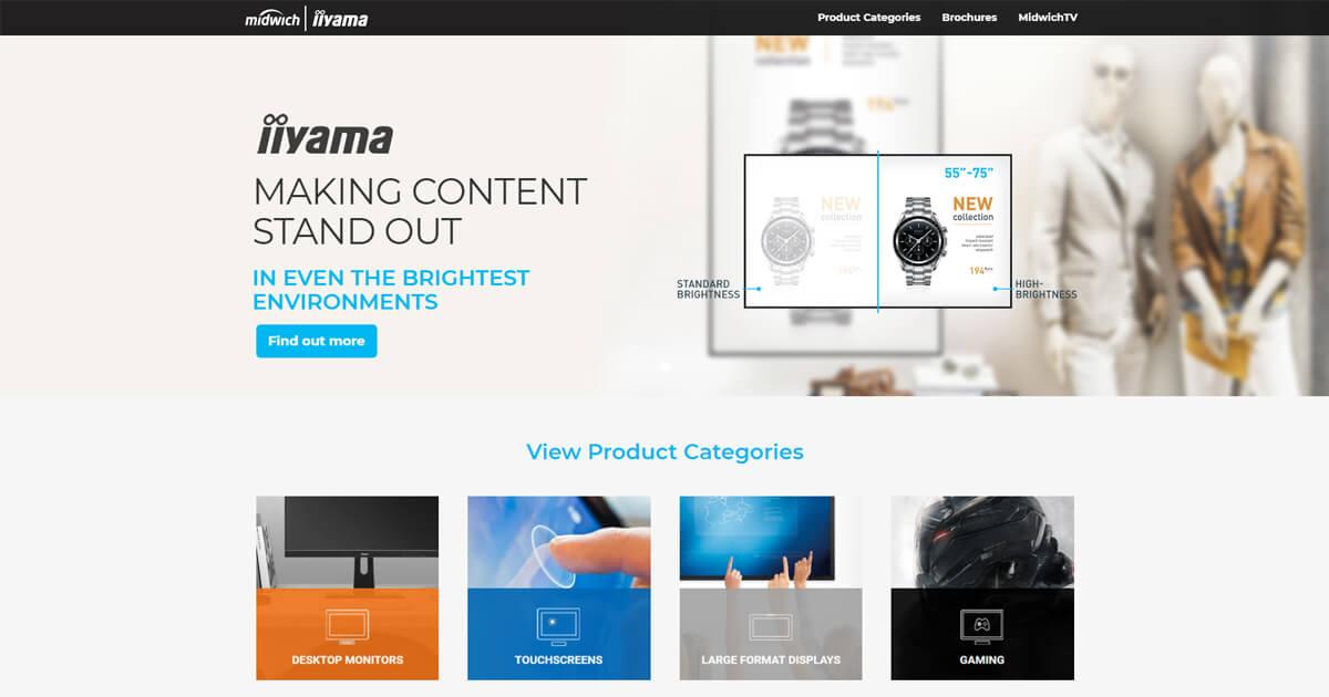 iiyama Displays and Touchscreens | Midwich