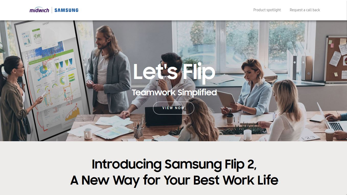 Samsung Interactive Displays | In Stock and Ready to Ship